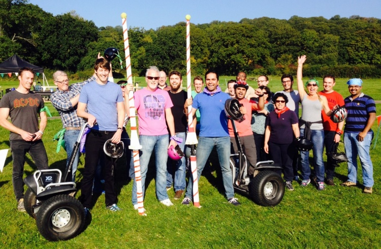 Segway Jousting Team Activity Acf Teambuilding And Events