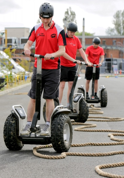 Team Building Using Segways Acf Team Building