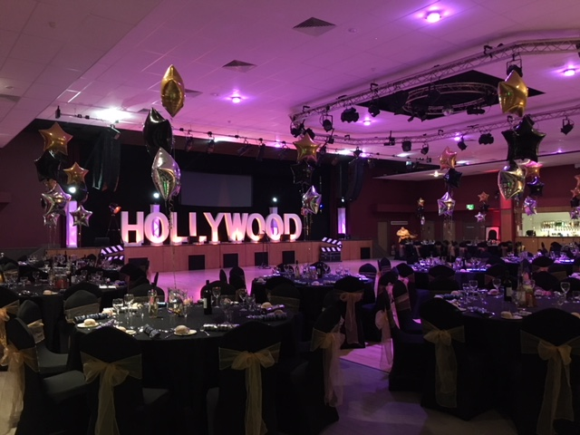 Hollywood themed evening