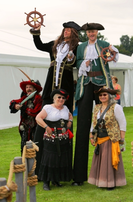 Stilt Walking Pirates - Fun Day Entertainers
