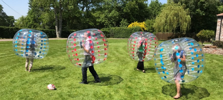World Cup Team Day - Bubble Football with ACF Teambuilding and Events