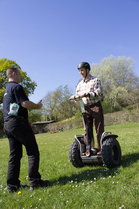 Segway Driving Experience - ACF Teambuilding