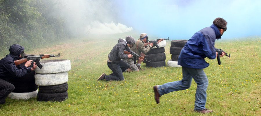 Skills House - Military Activity Day