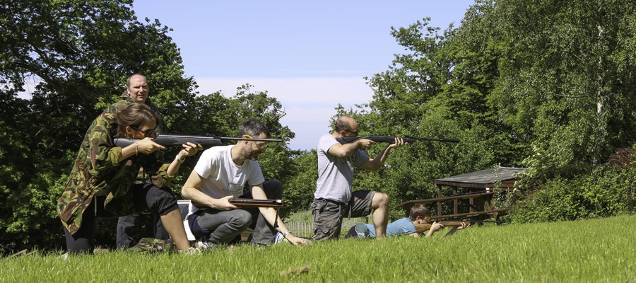 Air Rifle Activity Days - ACF Teambuilding