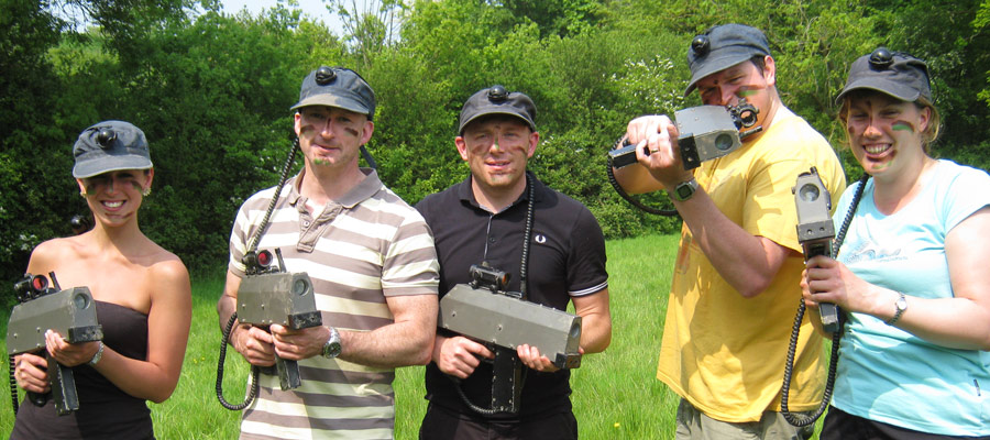 Infra Red Guns - ACF Teambuilding