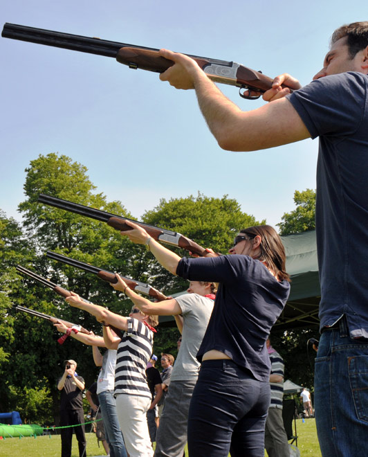 Laser Clay Shooting - ACF Teambuilding Activity Attractions