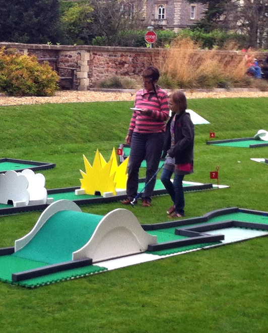 Crazy Golf Course Family Fun Days