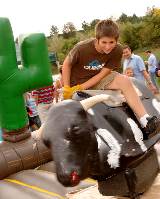 Rodeo Bull Ride Activity Attraction