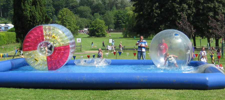 Water Walking Activity Attraction Company Fun Days
