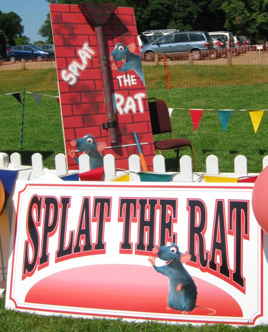 Splat The Rat - Fun Fair Stall