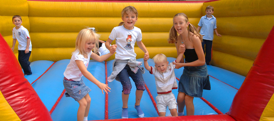 Bouncy Castle - Inflatables - Company Fun Days