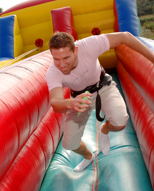 Bungee Fun Run - Inflatable - Company Fun Days