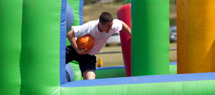 Obstacle Course - Company Fun Days - Inflatable