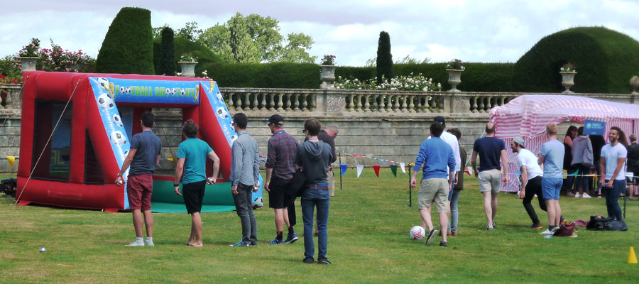 Penalty Shoot Out - Company Fun Days - Inflatable