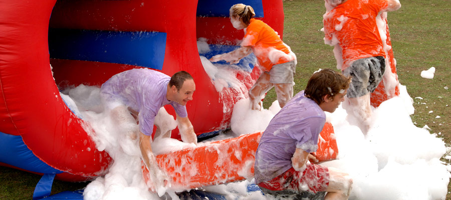 Huge Tubes - Its a knockout - Company Fun Day