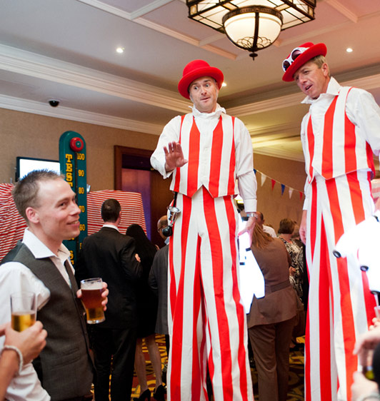 Stilt Walkers Mix n Mingle Company Fun Days