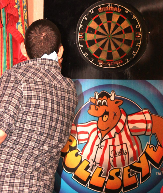 Darts Booth Giant Games Entertainment Events