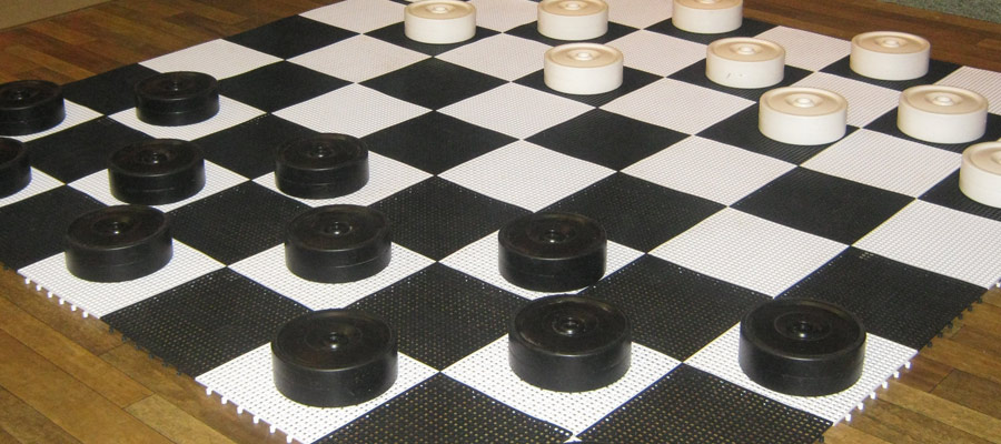 Giant Draughts Game