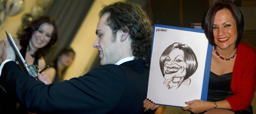 Caricaturist - Mix n Mingle - Entertainment