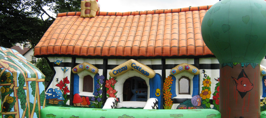 Crazy Cottage Inflatable Family Fun Days
