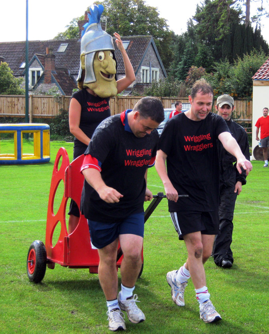 Roman Chariots Its A Knock Out Family Fun Day