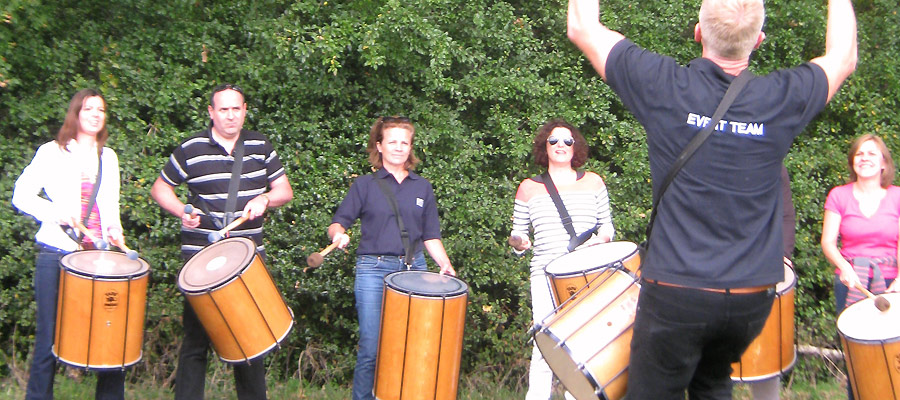 Samba Drumming Team Building Experience