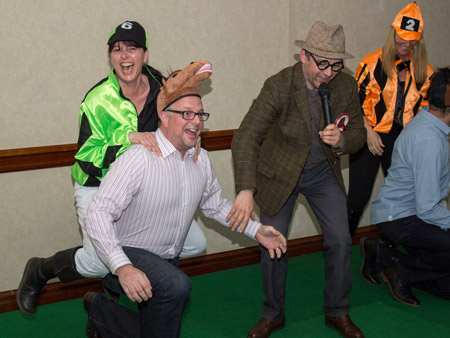 Race Night Event - ACF Teambuilding at Exeter Race Course
